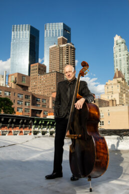 Ben Wolfe - NYC Bassist, Composer and Julliard School Educator - Photography by Anna Yatskevich
